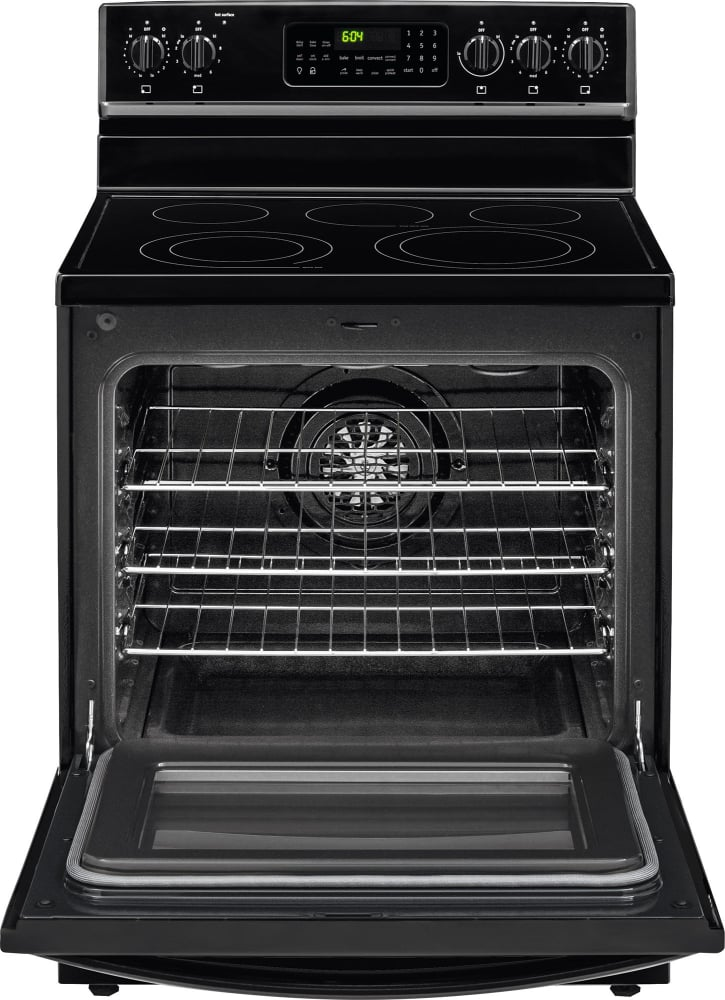 Frigidaire Gallery Series Fgef3058rb Black True Convection Oven