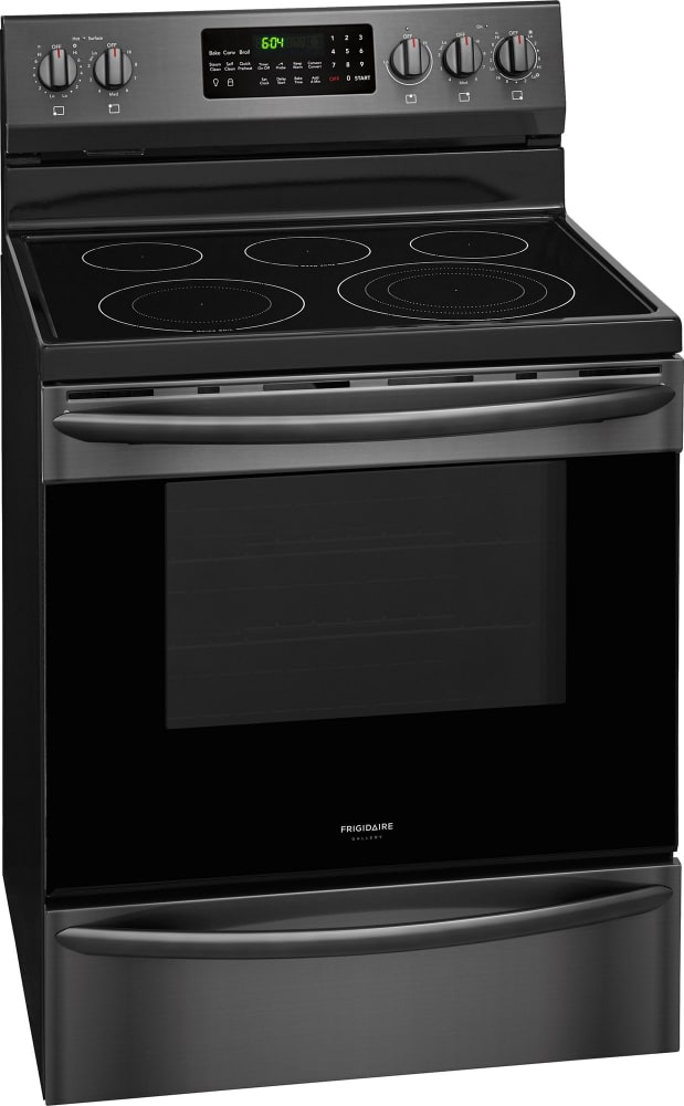 frigidaire fgef3059td 30 inch freestanding electric range with spacewise expandable element. Black Bedroom Furniture Sets. Home Design Ideas