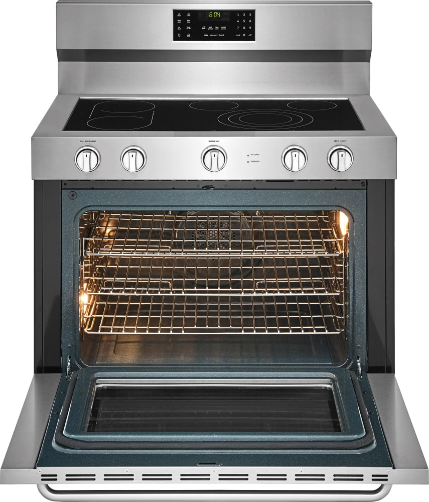 40 Inch Electric Range Part - 19: ... Frigidaire FGEF4085TS - Open View ...