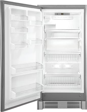frigidaire fgfu19f6qf 32 inch built in all freezer with adjustable glass shelves frost free. Black Bedroom Furniture Sets. Home Design Ideas
