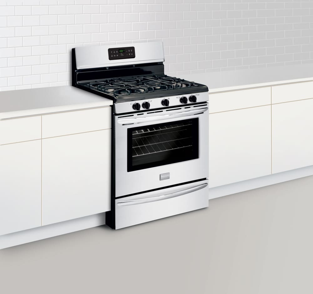 Frigidaire fggf3030pf 30 inch freestanding gas range with for Ajmadison