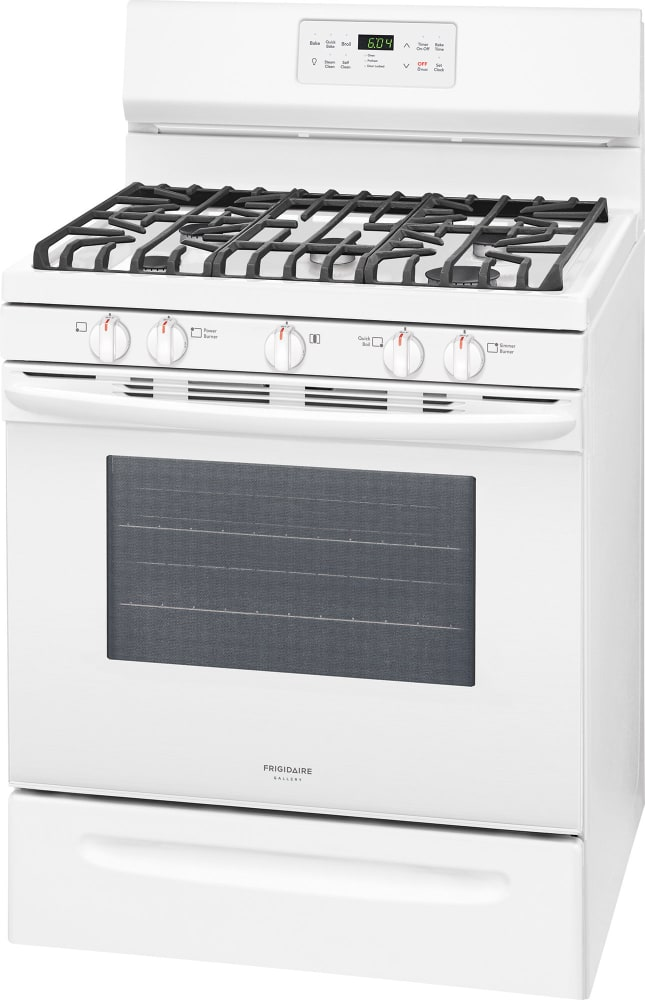 Frigidaire Fggf3036tw 30 Inch Freestanding Gas Range With
