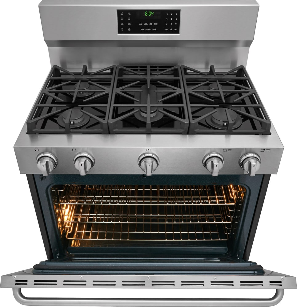 Frigidaire Gallery Series Fggf3685ts Open View