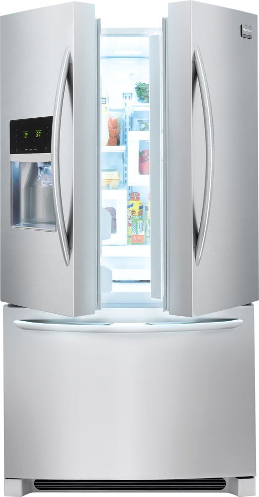 Frigidaire Gallery Series Fghb2867tf S Smudge Proof French Door Refrigerator With 27 7 Cu