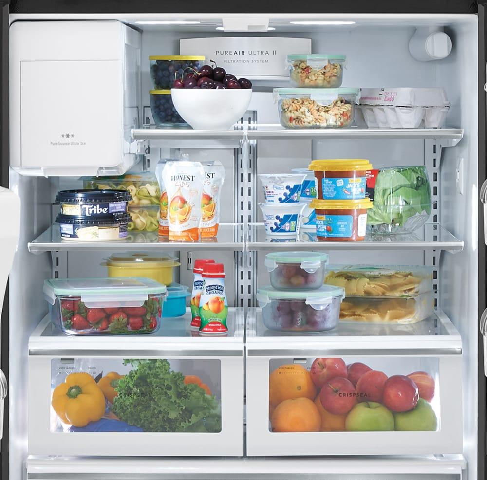 Frigidaire FGHD2368TD 36 Inch Counter Depth French Door Refrigerator ...