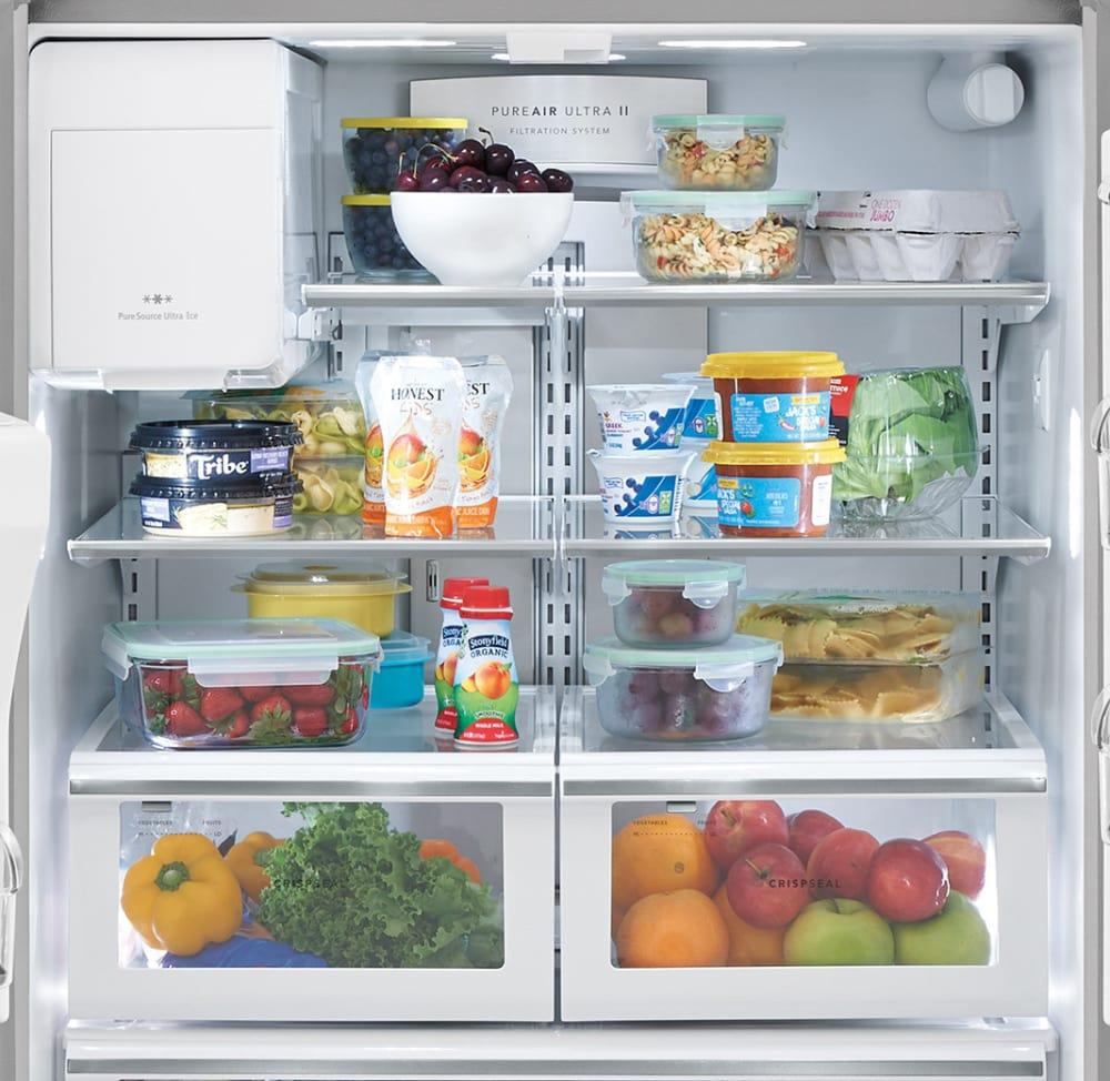 Frigidaire FGHD2368TF 36 Inch Counter Depth French Door Refrigerator ...