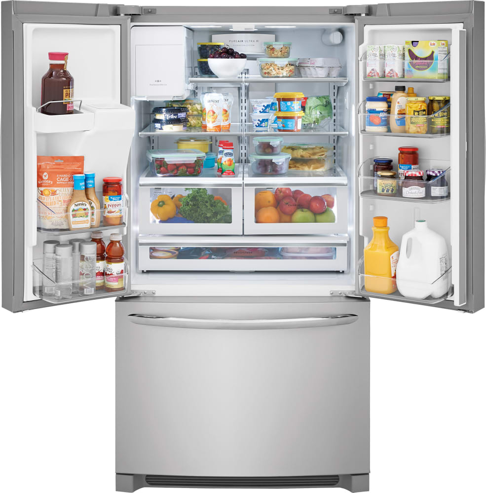 with adjustable ajmadison french ft cu drawer inch ice door energy capacity star cgi bin spillsafe cool doors shelves problems gallery maker refrigerator zone freeze frigidaire quick