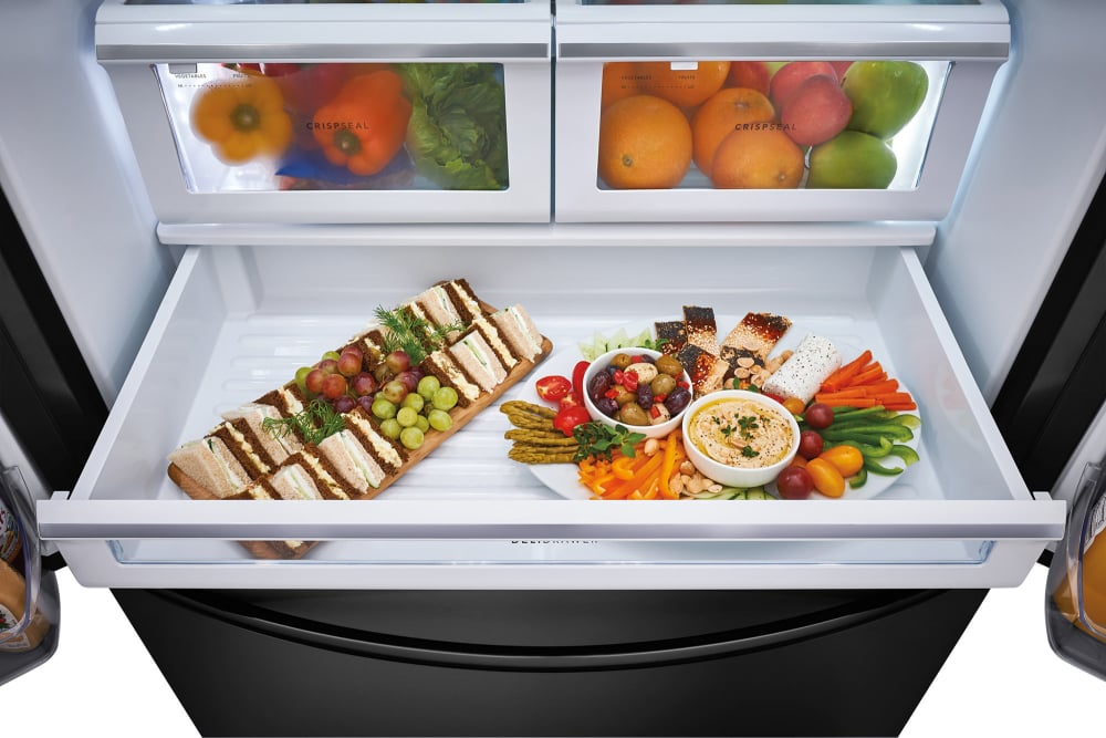 frigidaire fghn2868te 36 inch french door refrigerator. Black Bedroom Furniture Sets. Home Design Ideas