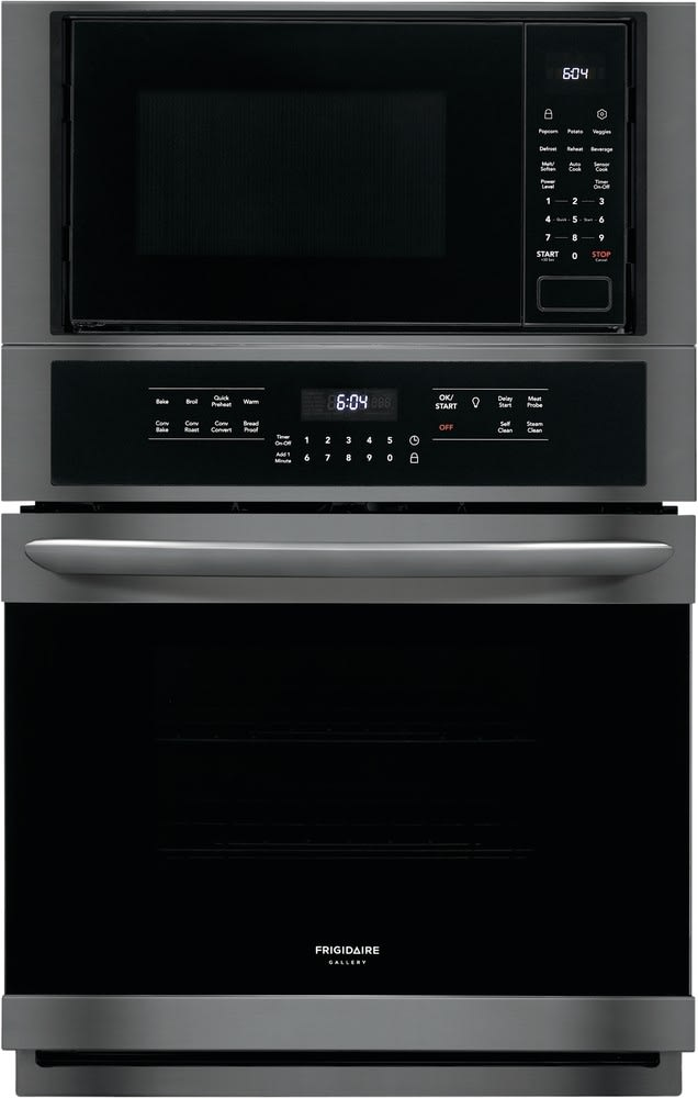 Frigidaire Gallery Series Fgmc2766ud Black Stainless Steel Front View