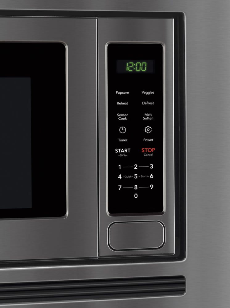 Frigidaire Gallery Series Fgmo206ntd Controls View