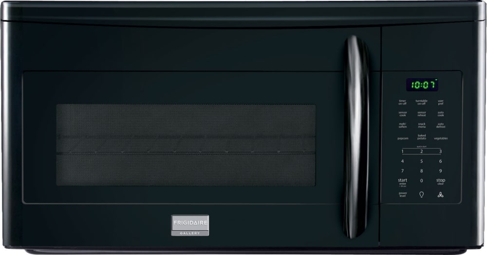 Frigidaire Gallery Series Fgmv175qb 30 Inch Over The Range Microwave Oven