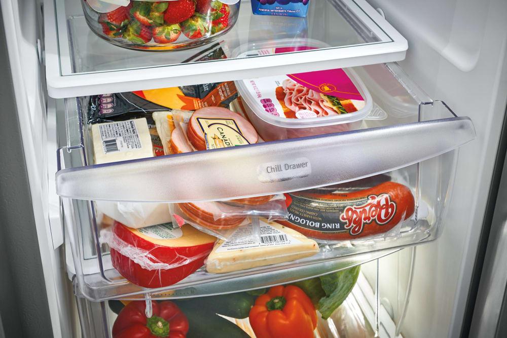 Frigidaire Fgss2335tf 33 Inch Side By Side Refrigerator