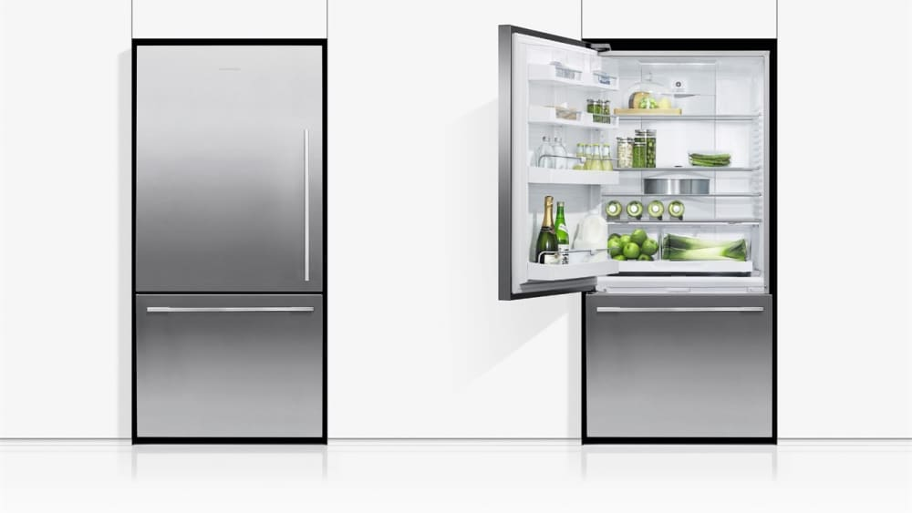 fisher paykel rf170wdlx5n 31 inch bottom freezer refrigerator with activesmart fast freeze. Black Bedroom Furniture Sets. Home Design Ideas