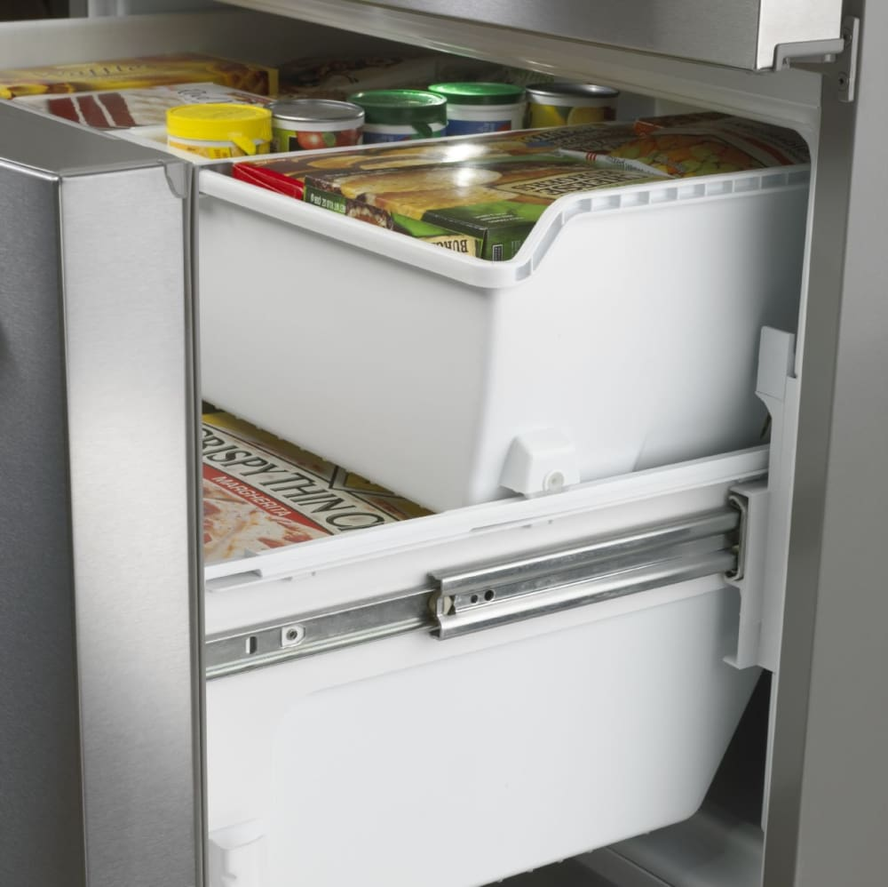 Maytag mft2574deh 247 cu ft french door refrigerator with 5 maytag heritage series mft2574deh freezer side rubansaba