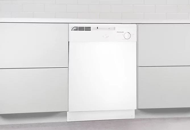 Frigidaire Fbd2400k Full Console Dishwasher With Spacewise
