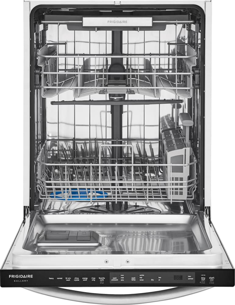 how to start frigidaire gallery dishwasher