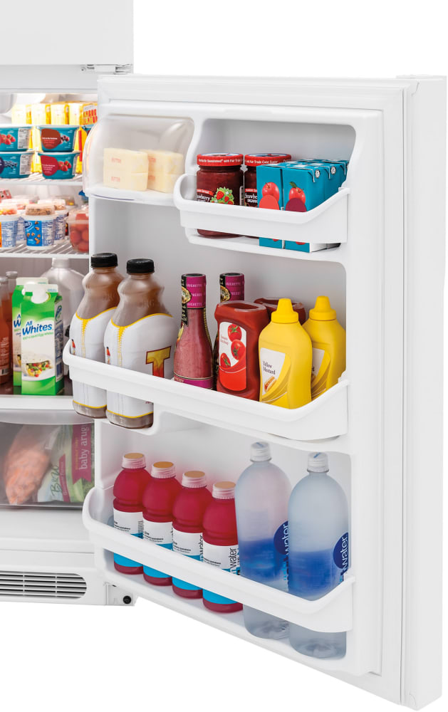 Wonderful ... Frigidaire FFTR1514TW   Open Refrigerator Door In White ...