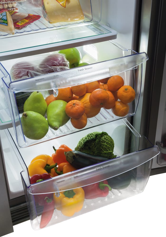 ... Frigidaire Gallery Series FGHC2331PF   Humidity Controlled Crisper  Drawers ...