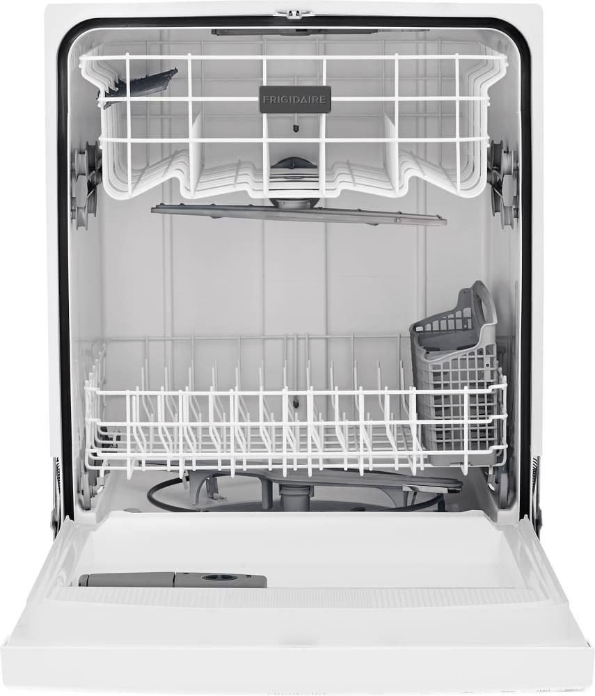 Frigidaire FFBD2412SW Full Console Dishwasher with SpaceWise ...