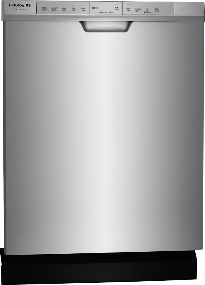 ... Frigidaire Gallery Series FGCD2444SA   Silver Side View ...