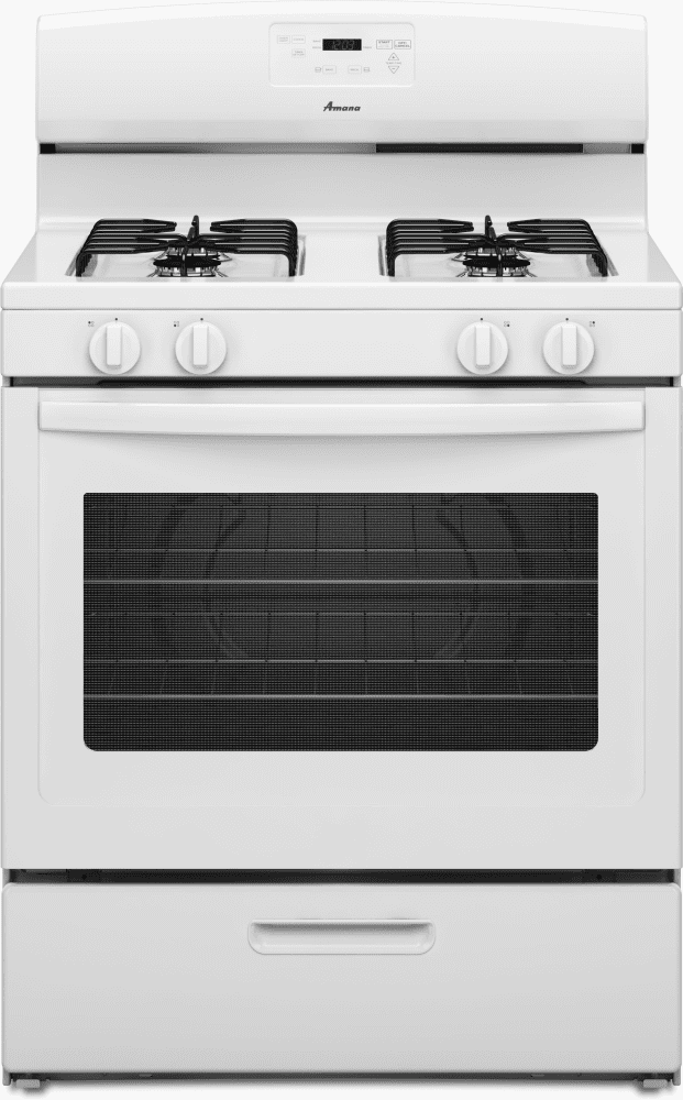 Amana Agr5330b 30 Inch Freestanding Gas Range With Boiler