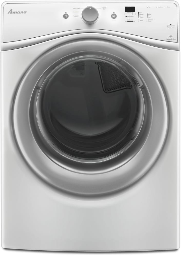 Amana Ned5800dw 27 Inch Electric Dryer With 7 3 Cu Ft