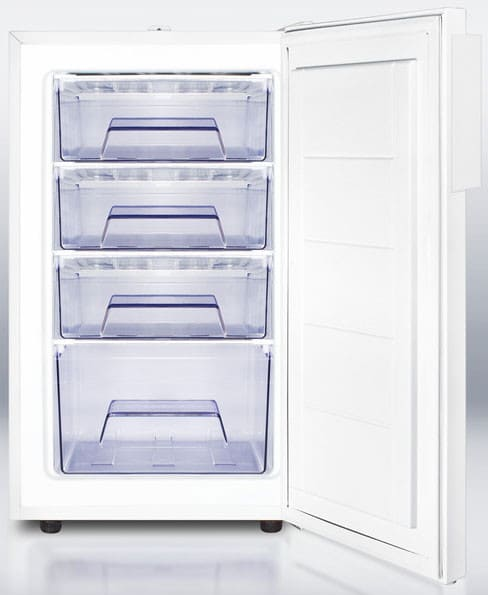 Accucold Fs407l 20 Inch Compact Freezer With Pull Out