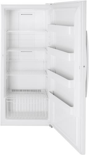 Ge Fuf21smrww 33 Inch Upright Freezer With Turbo Freeze