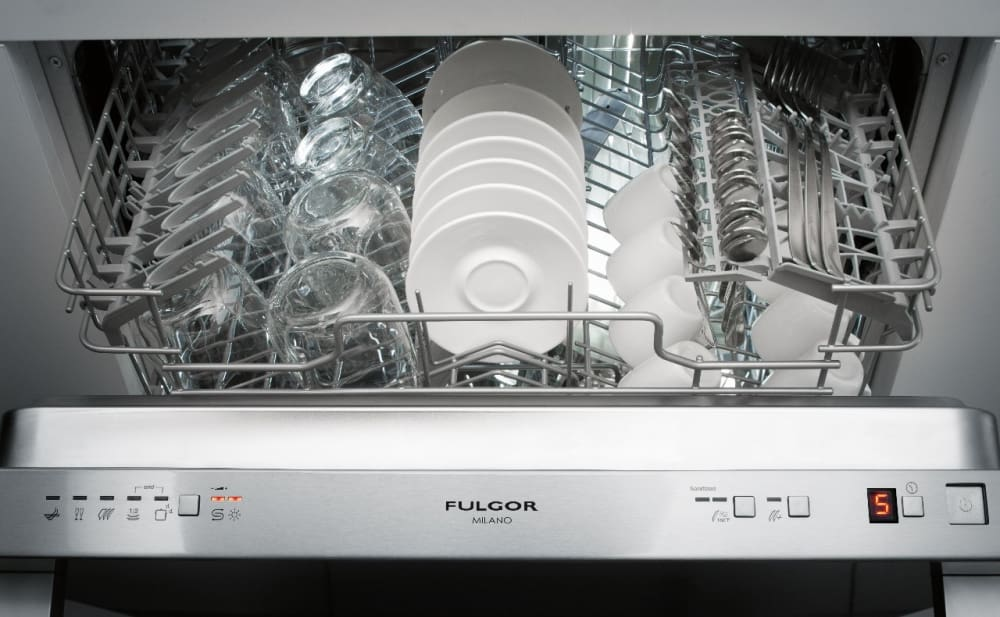 Fulgor Milano F6dw24fi1 Fully Integrated Dishwasher With