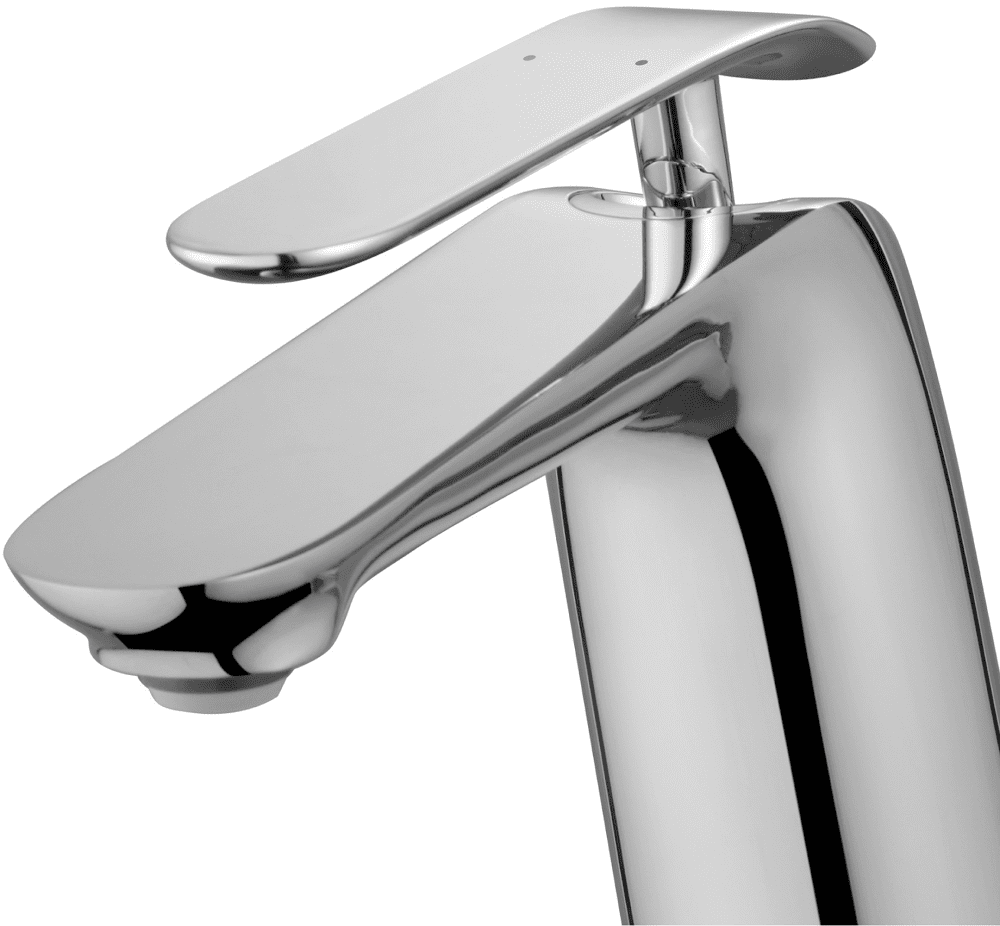 Bathroom Faucet Spout Reach kraus fvs1820ch single handle cast spout vessel sink bathroom