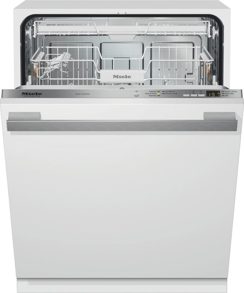 Miele G4975scvi Fully Integrated Dishwasher With 16 Place