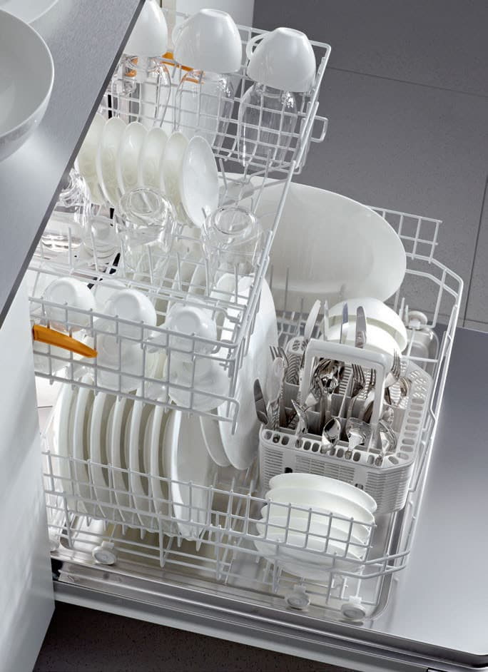 Miele G6305scus Full Console Dishwasher With 9 Wash Cycles