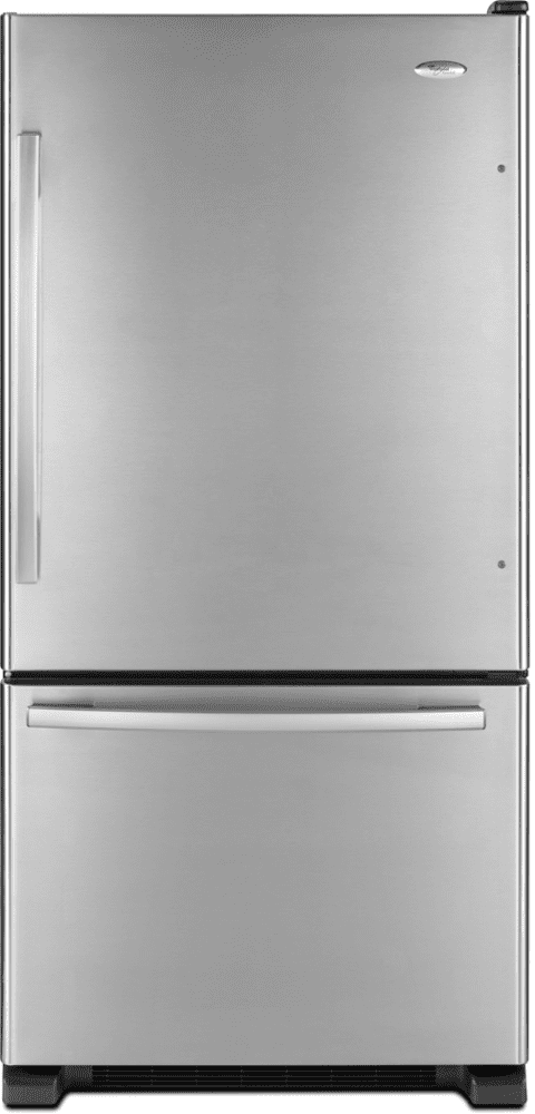 Whirlpool GB2FHDXWS 21.9 cu. ft. Bottom-Freezer Refrigerator with 5 on