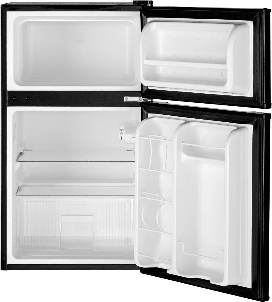 Ge Gde03ggkbb 19 Inch Top Freezer Compact Refrigerator