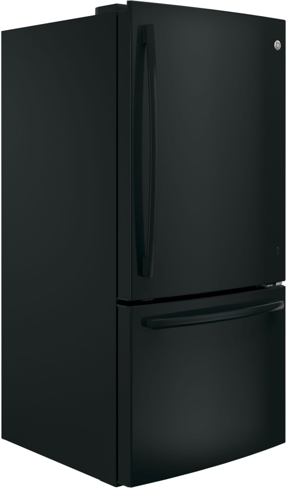 Ge Gde25egkbb 33 Inch Bottom Mount Refrigerator With 24 9