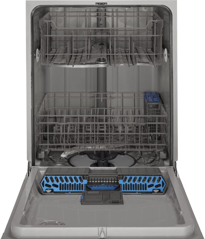 ge gdf510pgdww full console dishwasher with 4 wash cycles  spacemaker silverware basket  3