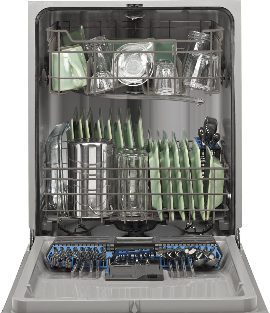 Ge Gdf510pgdbb Full Console Dishwasher With 4 Wash Cycles