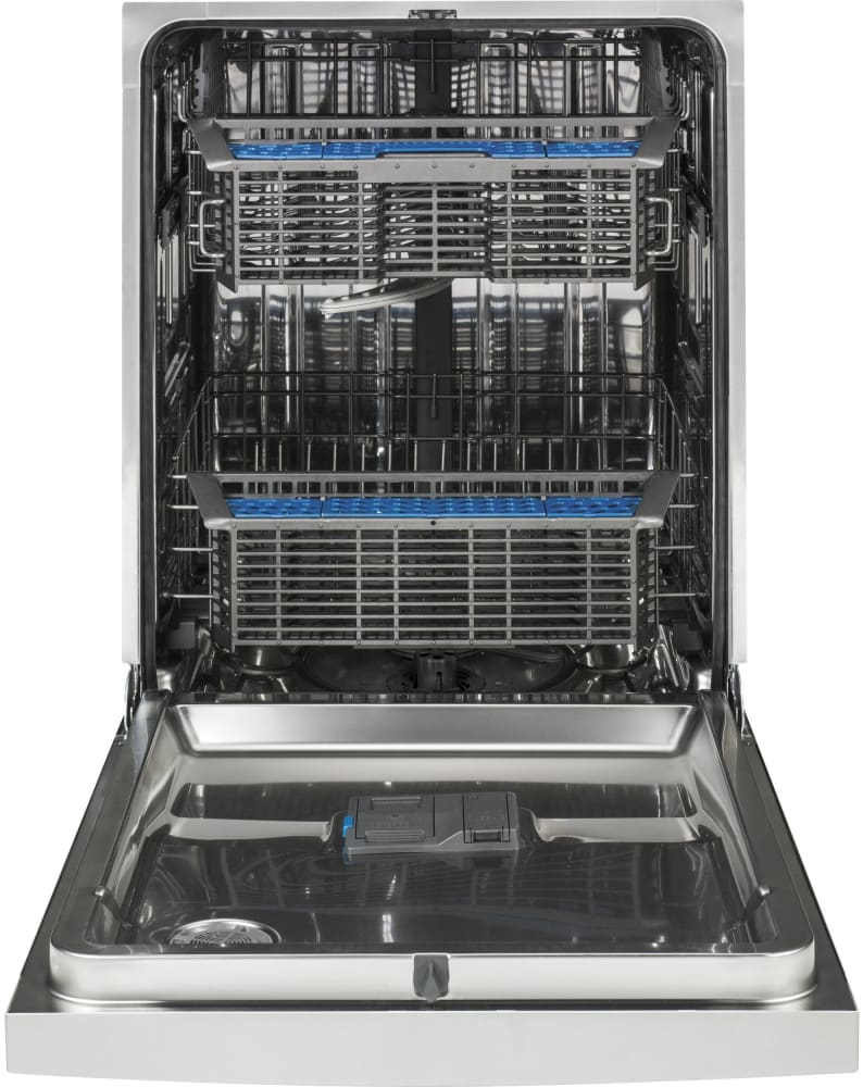 Ge gdf570ssfss fully console dishwasher with 16 place for Ajmadison