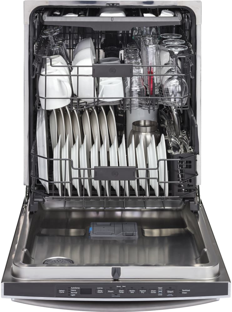 Ge Gdt695smjes 24 Inch Fully Integrated Dishwasher With