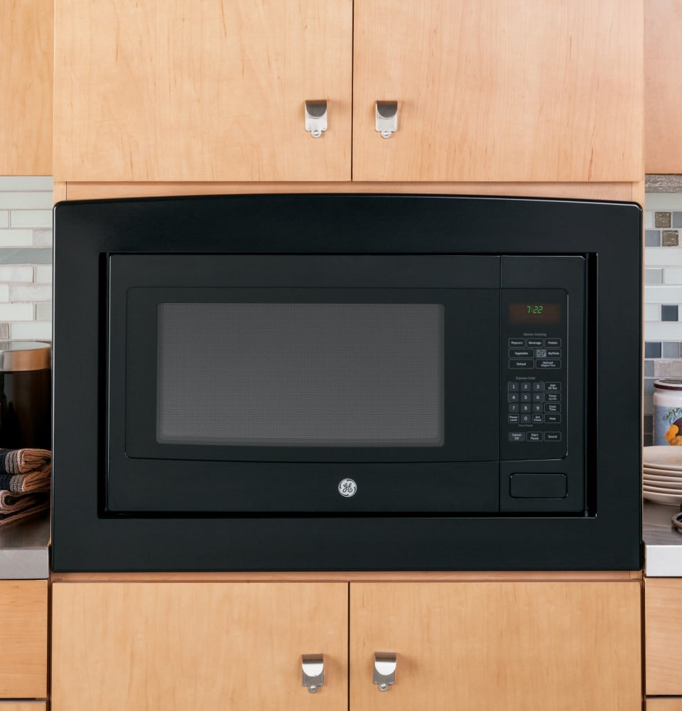 Countertop Microwave No Turntable : GE PEB7226DFBB 2.2 cu. ft. Countertop or Built-In Microwave Oven with ...
