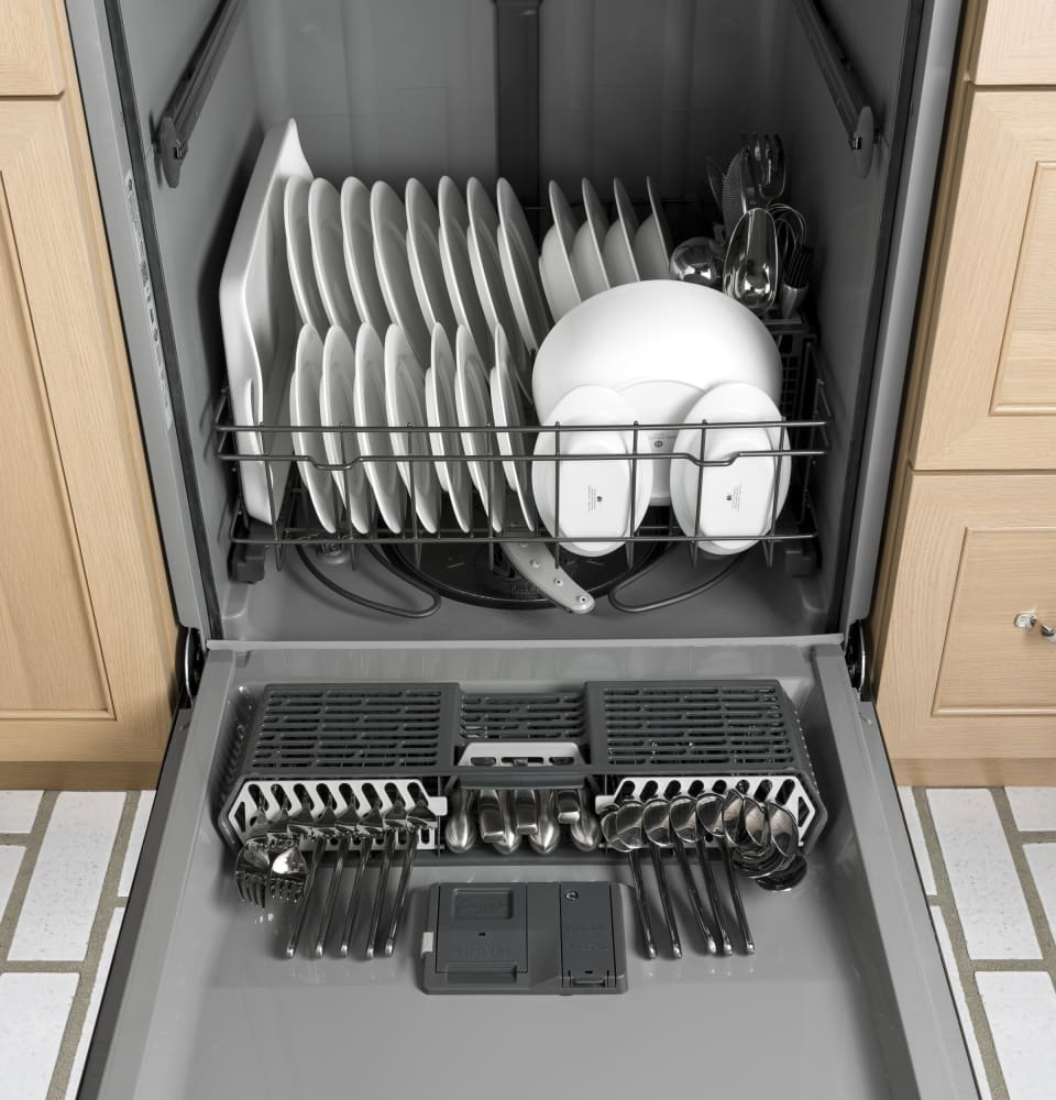 Ge Gdt545psjss Fully Integrated Dishwasher With Piranha Hard U2122 Food Disposer  Steam Pre