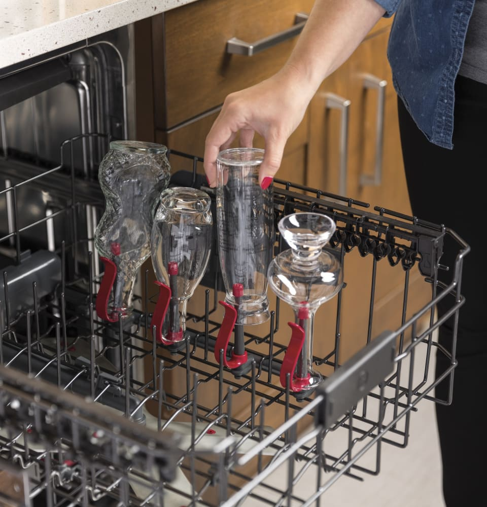 General Electric Dishwasher Troubleshooting Ge Gdt655ssjss Fully Integrated Dishwasher With Bottle Jets Wash