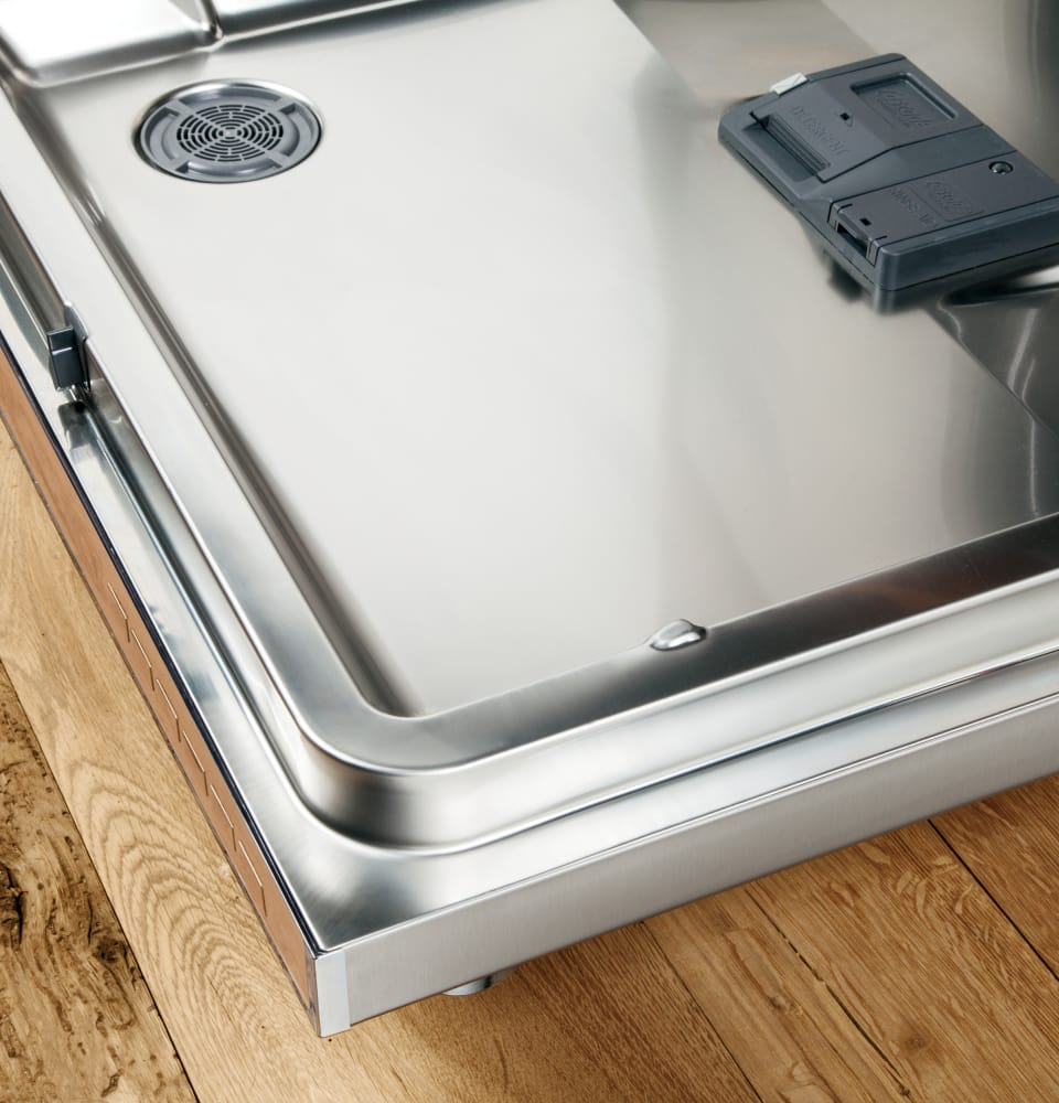 How To Clean The Inside Of A Stainless Steel Dishwasher Ge Gdt655ssjss Fully Integrated Dishwasher With Bottle Jets Wash