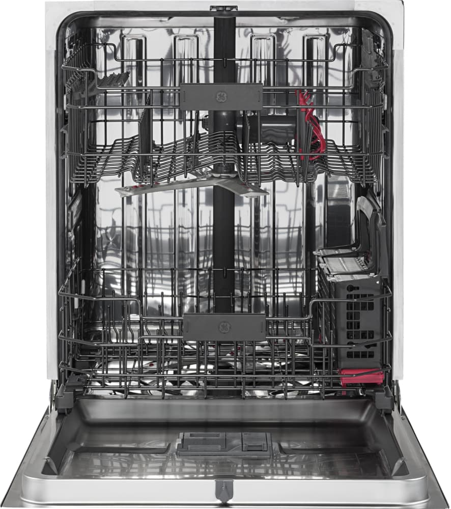 Ge Dishwahers Ge Pdt825sgjww Fully Integrated Dishwasher With Quad Blade Wash