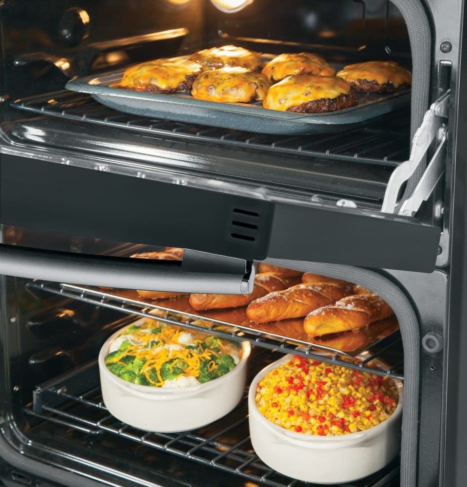 30 Inch Slide In Double Oven Gas Range