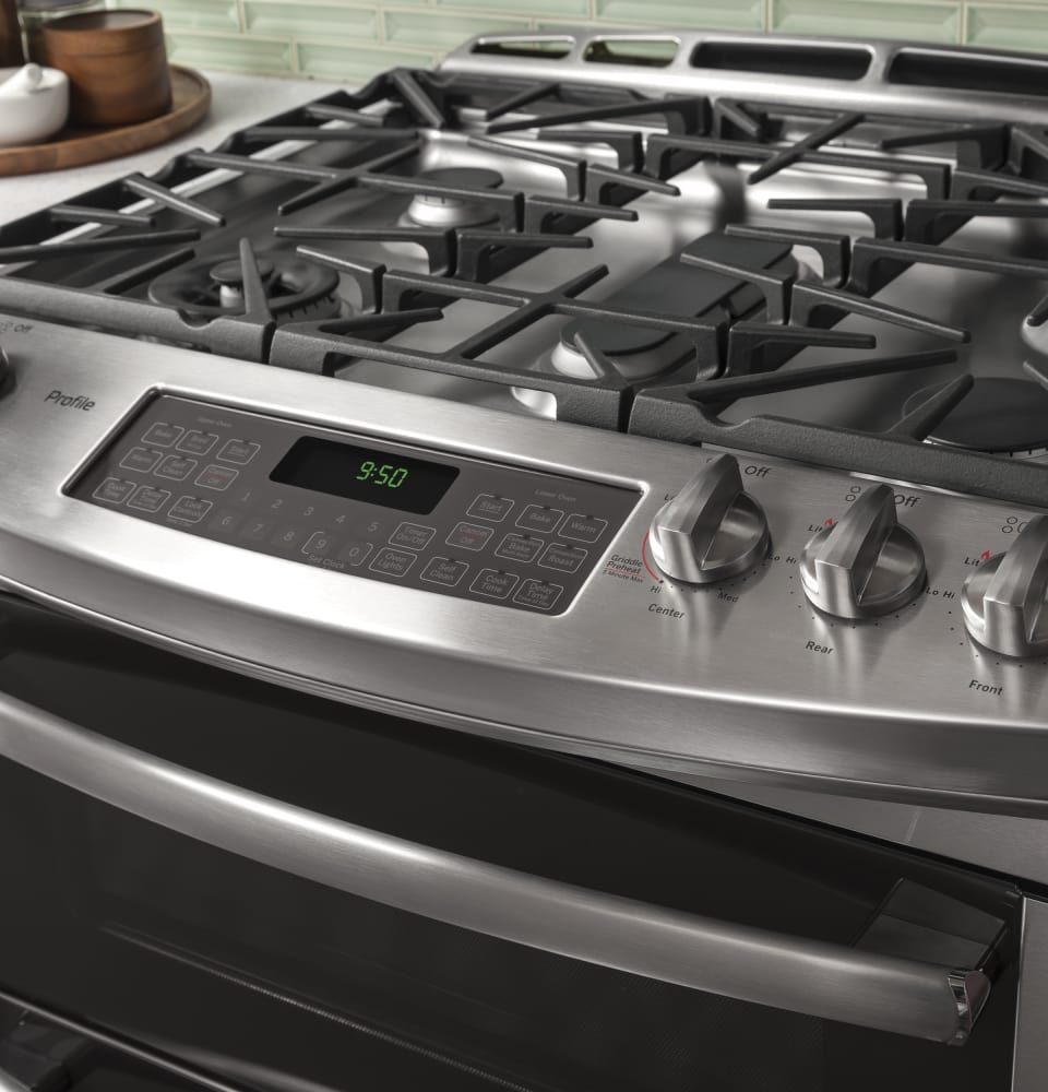 Interior Ge Profile Pgs950sefss 5 Burner Cooktop