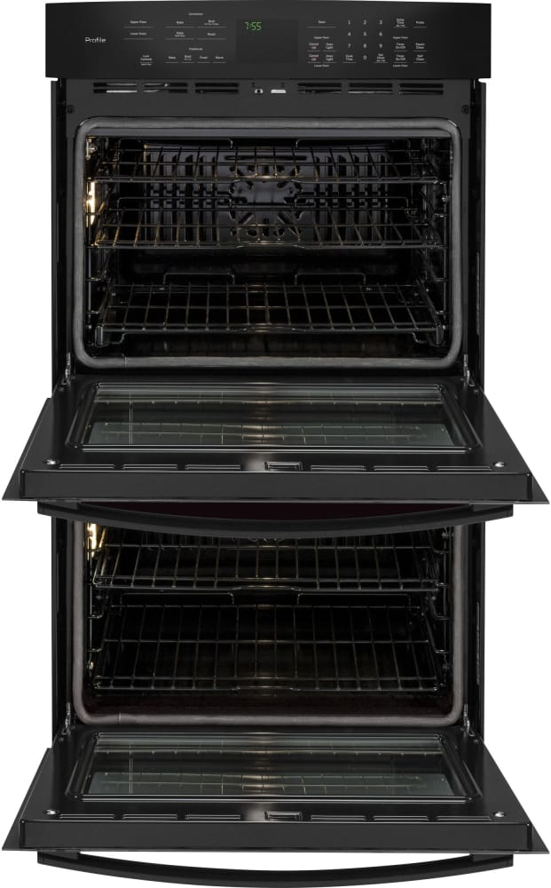 Ge Pt7550dfbb 30 Inch Double Electric Wall Oven With True