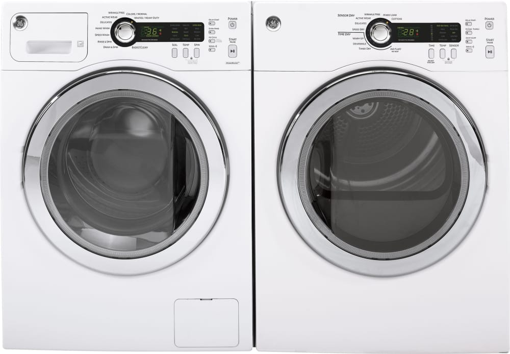 Ge Dcvh480ekww 24 Inch Electric Dryer With Sensor Dry