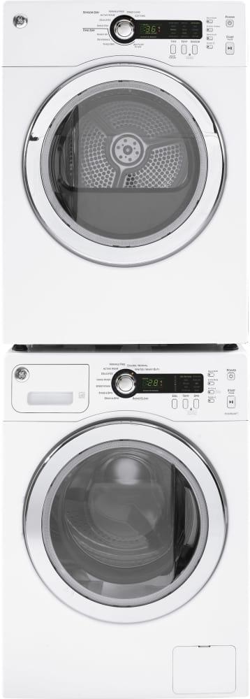 Ge Dcvh480ekww 24 Inch Electric Dryer With Sensor Dry