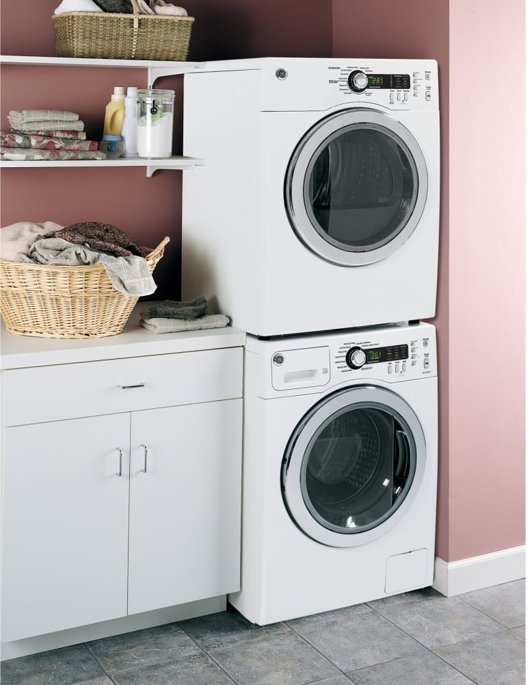 Attractive Washer Ge Dcvh480ekww Lifestyle View   Small Washer Dryer Combo
